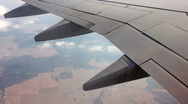 Stock Video Footage of view  from the airplane