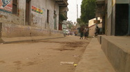 Stock Video Footage of Bangladeshi Village Street