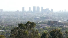 West LA and PDC in WeHo HD Stock Footage