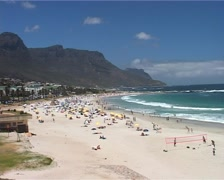 Camps Bay WS, Cape Town South Africa Stock Footage