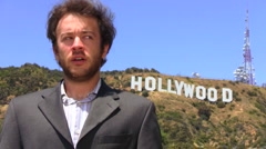 Hollywood agent STRESSED - HD Stock Footage