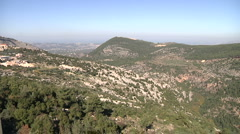 Lebanese mountains Stock Footage