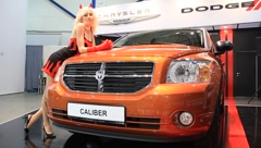 Motor show Stock Footage