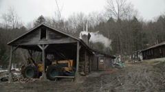 Exterior of Sugar Shack Stock Footage