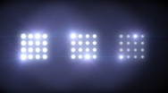 Floodlight Flares Stock Footage