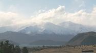 Massive mountain timelapse Stock Footage