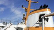 Ship radar Stock Footage
