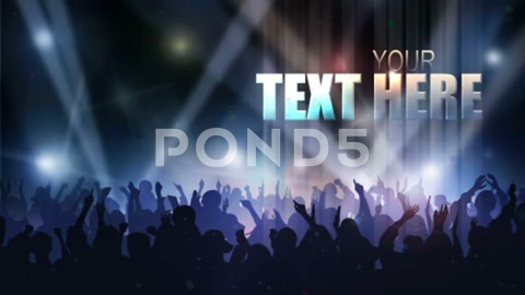 After Effects Project - Pond5 Cheering Crowd Titles 5505045
