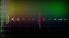 Stock Video Footage of Soundwave IV