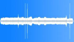 Traffic jam engine in tunnel - sound effect