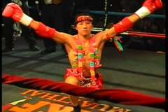 Muay thai kickboxing Stock Footage