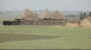 Stock Video Footage of Village Ethiopia 1