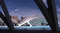 Modern architecture Stock Footage