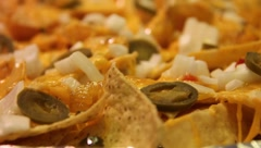 Homemade NACHOS in HD part 2 Stock Footage