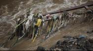 River polution 1 Stock Footage