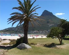 Camps Bay and Lions Head, Cape Town GFSD Stock Footage