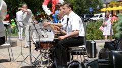drummer - stock footage