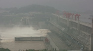 China - Three Gorges Project Stock Footage