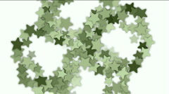 stars shaped flower fancy pattern.abstract,backgrounds,animation, - stock footage