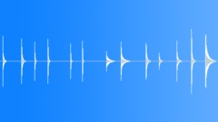 Cowbells - different single sounds - sound effect