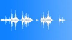 Wringing sponge into metal bath Sound Effect