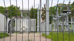 High voltage Stock Footage