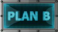 Plan b Stock Footage