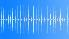 Wood to metal hits - indoor - sound effect
