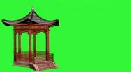 Stock Video Footage of Pavilion Chromakey
