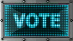 vote - stock footage