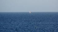 Stock Video Footage of Ocean sailing