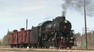 Steam Locomotive Train Stock Footage