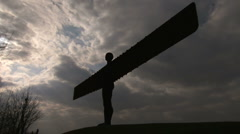 ANGEL Of the North Stock Footage