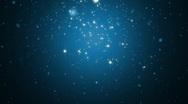 Stock Video Footage of Stars falling HD loop