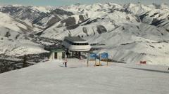 Winter Ski Resort 4952 Stock Footage