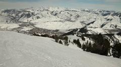 Winter Ski Resort 4978 Stock Footage