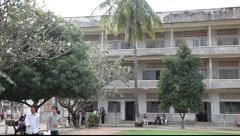 Tuol Sleng Museum Cambodia_LDA_N_00123.MOV Stock Footage