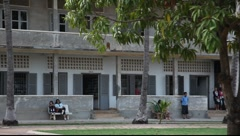 Tuol Sleng Museum Cambodia_LDA_P_00153.MOV Stock Footage