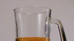 Beer Mug, Sloppy Pour - stock footage
