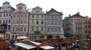 Stock Video Footage of prague - pan to old town hall