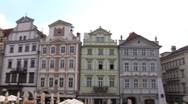 Stock Video Footage of Prague - pan to Our Lady church