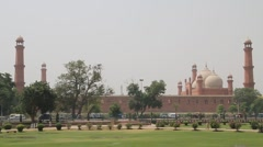 Badshahi Mosque Lahore, Pakistan - stock footage