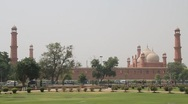 Stock Video Footage of Badshahi Mosque Lahore, Pakistan