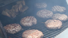 Grill 2 Stock Footage