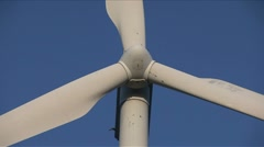windmill low angle close-up - stock footage