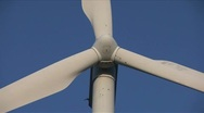 Windmill low angle close-up Stock Footage