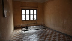 Stock Video Footage of Tuol Sleng Museum Cambodia_LDA_P_00161.MOV
