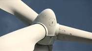 Windmill low angle extreme close-up Stock Footage