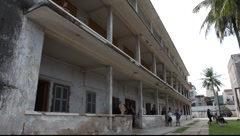 Tuol Sleng Museum Cambodia_LDA_N_00132.MOV Stock Footage