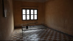 Stock Video Footage of Tuol Sleng Museum Cambodia_LDA_N_00133.MOV